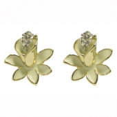 Collectif Clothing lily enamel studs