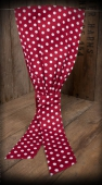 Rumble59 Hairband Polka Red/White