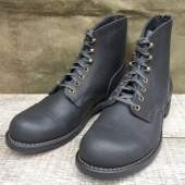 Red Wing Iron Ranger Black Spitfire