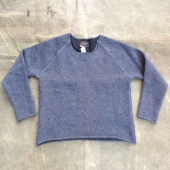 Indigofera Willow Wool Sweatshirt Grey