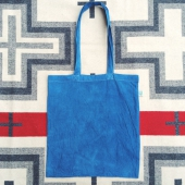 Natural Indigo Tote Bag