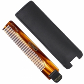 Kent NU22 112mm Fine comb - With Leather tab and case