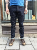 Deus Knox straight raw indigo jeans