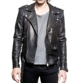 Deadwood Biker Jacket Black