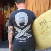Wrangler Surf Highway Pkt Tee Phantom