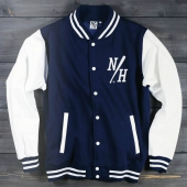 Northern Hooligan NH Jock Jacket Navy/White