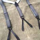 LVC Suspenders Yellow Stripe