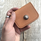 Larry Smith LT-0017 Light Brown Coin Case