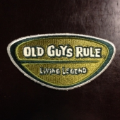 Old Guys Rule Living Legend tygm�rke