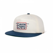 Brixton Bishop Cap White/Navy