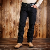 Pike Brothers 1963 Roamer Pant 13oz pitch black
