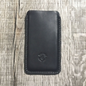 Lone Wolf Leather IPhone 6 Sleeve black Veg Tann