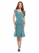 Collectif Aida Zak Lily Check Dress