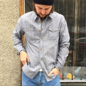 KOI Elroy chambray shirt