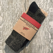 Red Wing Black Deep Toe Capped Wool