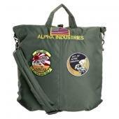 Alpha Industries Helmet Bag sage green