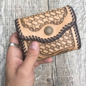 Looser Wallets Tooled Leather Wallet