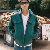 Brixton Cascade Jacket Hunter Green