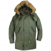 Alpha Industries Inc. Vintage Fishtail Parka Olive
