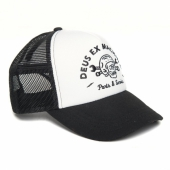 Deus Carlo Trucker Black/White