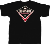 Old Guys Rule Classic Living Legend Black Tee