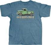 Old Guys Rule Pick Up Sidestep Tee