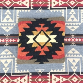 Pendleton Hooked Wool Pillow Pueblo Dwelling