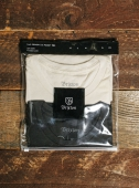 Brixton Vital 2pack S/S Pocket Tee Off White/Washed Black