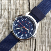 Timex Archive Waterbury United Stainless Steel Blue Dial