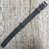 Timex Archive Black Leather Strap 20mm