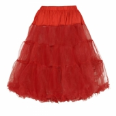 Collectif Maddy petticoat red