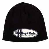 Old Guys Rule Oval Comp Beanie Charcoal