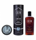 American Crew 3-in-1 + Fiber Whiskey Tube