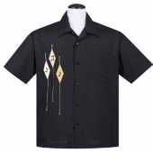 Steady Diamond note shirt black