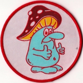 Höga Nord Rekords Mushroom Man (Patch)