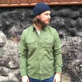 Lee Worker Shirt Military Green