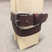 Lee Grained Belt Brown