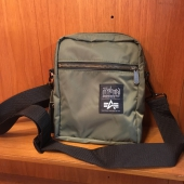 Alpha x Manhattan Portage City Lights Bag Sage Green