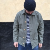 Armor-Lux Fisherman's Heritage Jacket Orto Green