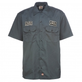 Dickies North Irwin Shirt Charcoal Grey