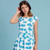 Emily and Fin Nancy Dress Patchwork Picnic