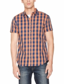 Wrangler 1 Pkt Shirt Brandied Melon