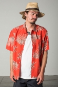 Brixton Lovitz S/S shirt red