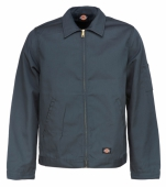 Dickies Eisenhower Jacket Charcoal Grey fodrad