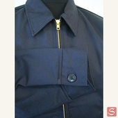 Dickies Eisenhower Jacket Navy fodrad