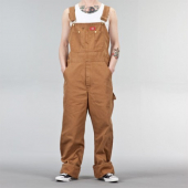 Dickies Bib Overall Rinsed Brown