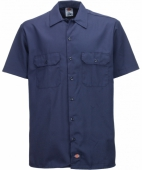 Dickies Shortsleeve work shirt navy