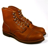 Red Wing Style No. 8112 Iron Ranger Oro Russet