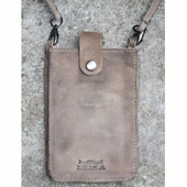 Nic & Mel iPhone holder w strap nubuck