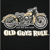 Old Guys Rule Panhead Pocket Tee